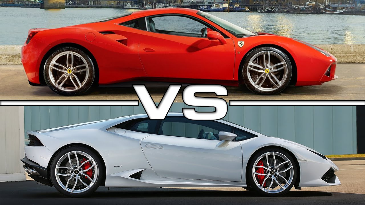 Ferrari 488GTB vs Lamborghini Huracan LP610-4 - YouTube on lamborghini vs audi r8, lamborghini vs dodge viper, lamborghini vs nissan gt-r, lamborghini vs nissan skyline, lamborghini vs mclaren f1, lamborghini vs laferrari, lamborghini vs ford focus, lamborghini vs bugatti veyron super sport, lamborghini vs toyota supra, lamborghini vs hyundai elantra, lamborghini vs corvette, lamborghini vs porsche 911, lamborghini vs nissan 300zx, lamborghini vs mclaren p1,