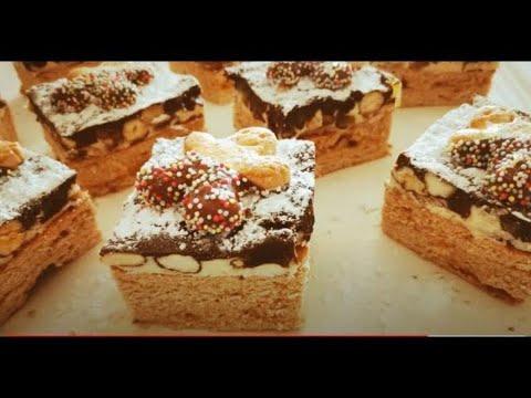 recette-pain-d'épices-chocolat-fruits-secs-,-كيكة-العسل-و-التوابل-🙋♀️🌹👌🙌