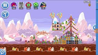 Angry Birds Friends 21st Dec 2017 Level 1 SANTACOAL & CANDYCLAUS TOURNAMENT.