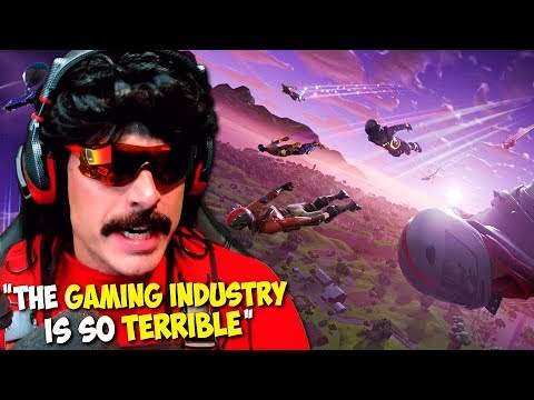 "DrDisRespect: ""The Gaming Industry is so TERRIBLE Right Now!"" - Fortnite Gameplay (1080p60)"