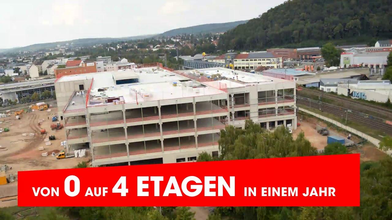 Möbel Martin Neueröffnung Saarbrücken Zeitraffer Etagen Youtube