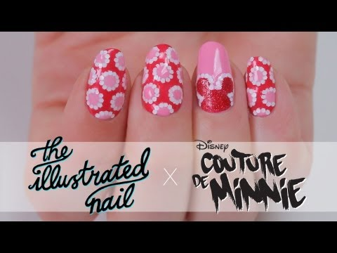 The Illustrated Nail x Couture de Minnie | Nail Design Tutorial