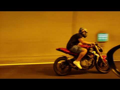 MV Agusta Brutale 750 Tunnel Fly By