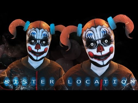 Baby FNAF Sister Location - Makeup Tutorial!