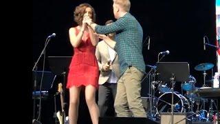 На концерте у Ольги Бузовой отобрали микрофон