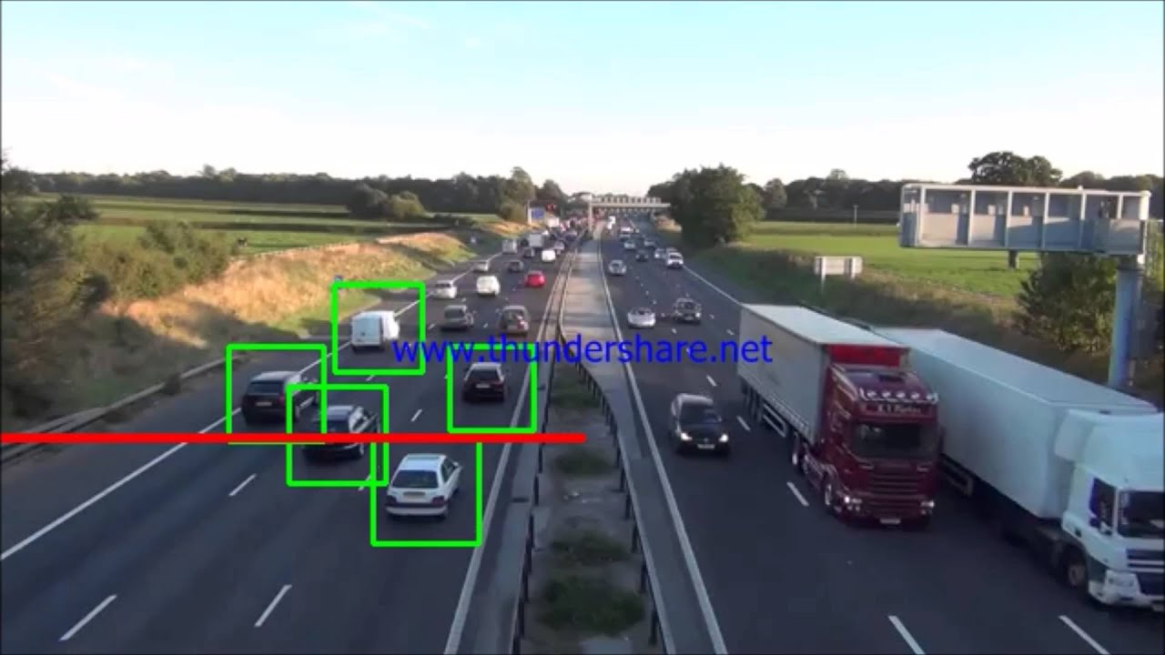 Vehicle Detection using HOG and SVM - OpenCV