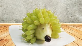2 Attractive Fruit Carving Design Ideas for Kids