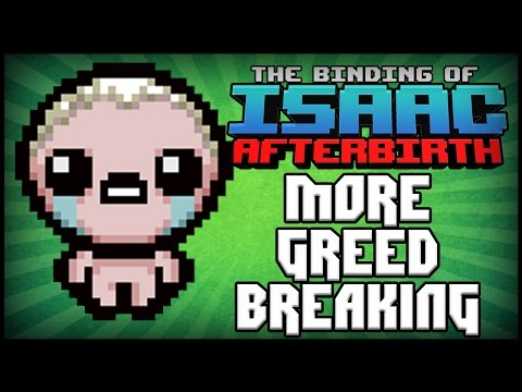 Greed Mode BROKEN #5 - Afterbirth Greed Mode [68]