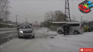 Car accident Snow 20