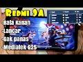 - Test Free Fire on Redmi 9A, Rata kanan, Xiaomi Garena Mediatek G25