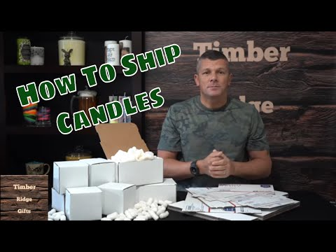 Packaging and Shipping Candles - The Supplies I Use