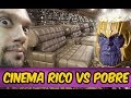 CINEMA DE RICO VS CINEMA DE POBRE | CINÉPOLIS Vingadores Ultimato