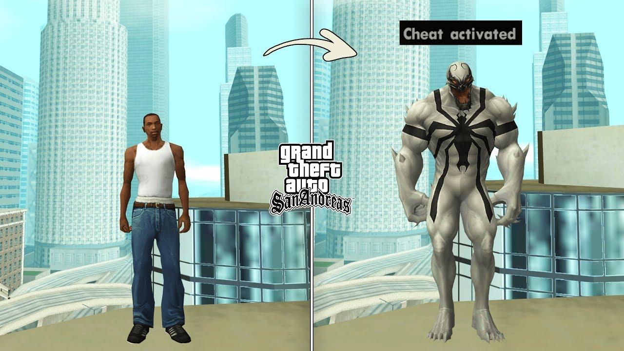 Secret Anti Venom Cheat Code in GTA San Andreas [Green Goo]