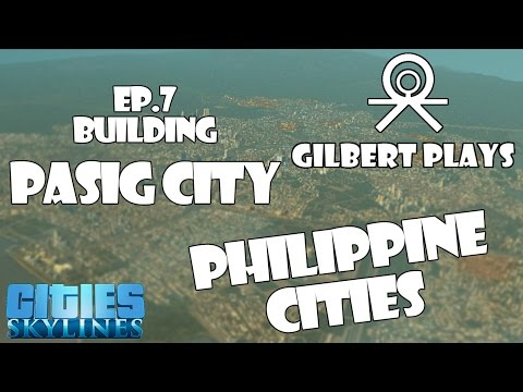 Philippine Cities Metro Manila ep 7 building Pasig City.