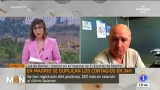 ???? Entrevista al Dr. Luis de Benito (DEJA EN VERGÜENZA AL NOTICIERO)