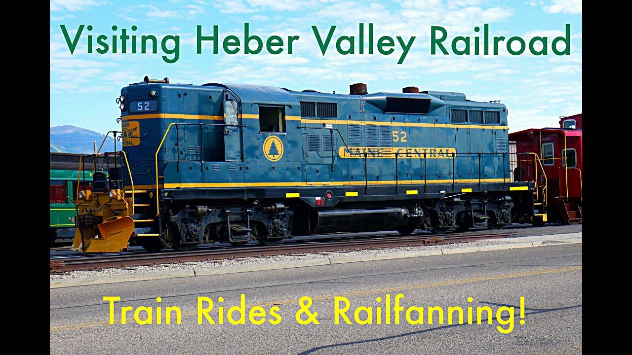Download Visiting the Heber Valley Railroad Museum in Utah! | Mutlicolor Films