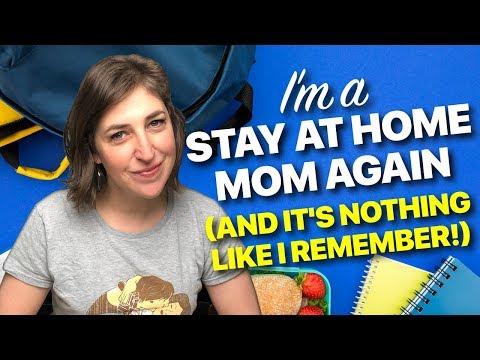 I'm A Stay-At-Home Mom...Again! || Mayim Bialik