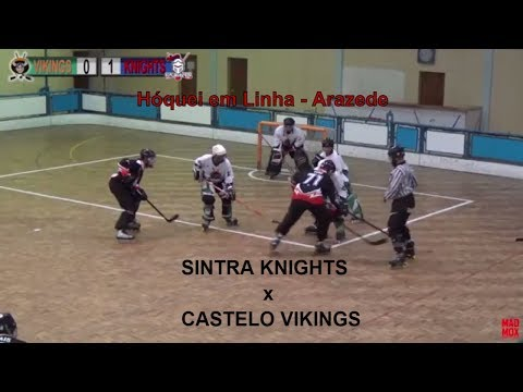 Arazede INLINE HOCKEY - KNIGHTS SINTRA vs VIKINGS CASTELO