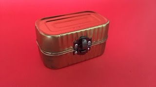 How To Create A Cool Recycled Sardine Box - DIY Home Tutorial - Guidecentral
