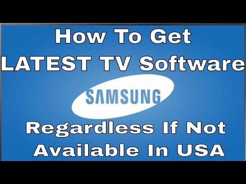 Update Any USA Samsung TV Firmware Using Latest From Korea - Step By Step How To. KS8000, KS9000,