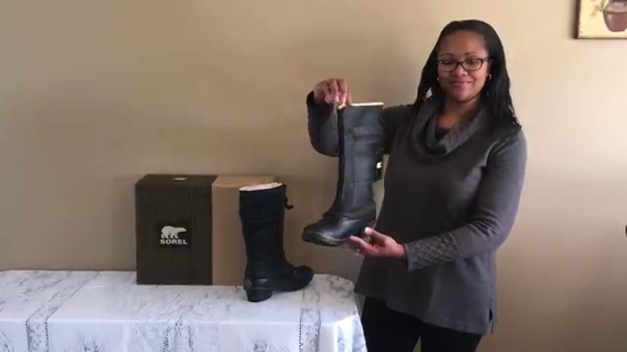 35a572129 Overview of Sorel Winter Fancy Tall II Snow Boot For Women - YouTube