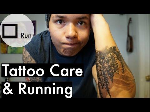 Tattoo Care & Running   Square Run