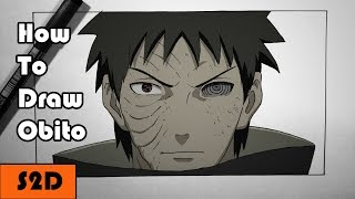 How To Draw Obito [Narrated]