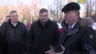 видео В Серпухове завершается благоустройство новой зоны отдыха