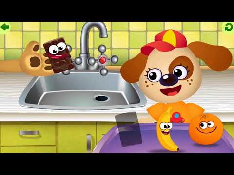Funny Food | Learning Games  | iOS Gameplay | SUPER KIDS GAMES STUDIO