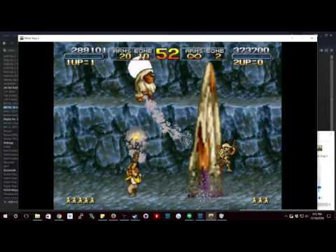 jorge mendoza Live Streaming Metal slug 3