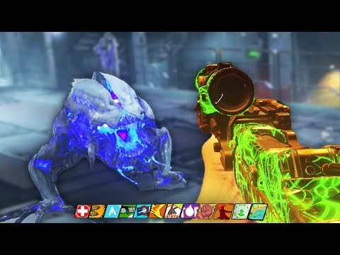 THE BEAST FROM BEYOND:  MAIN EASTER EGG HUNT GAMEPLAY! (Infinite Warfare Zombies DLC 4)