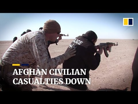 Afghan Civilian Casualties Down But US And Pro-government Forces Killed More Than Militants