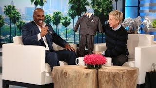 Steve Harvey Likes Warm Baby Wipes