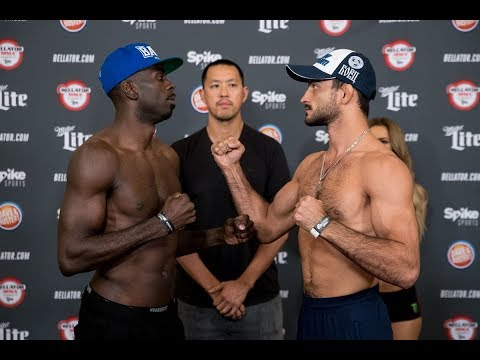 Bellator 182: Koreshkov vs. Njokuani LIVE Weigh Ins