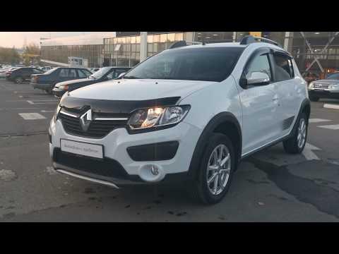 Купить Рено Сандеро Степвей (Renault Sandero Stepway) 2017 г с пробегом бу в Саратове Элвис Trade In