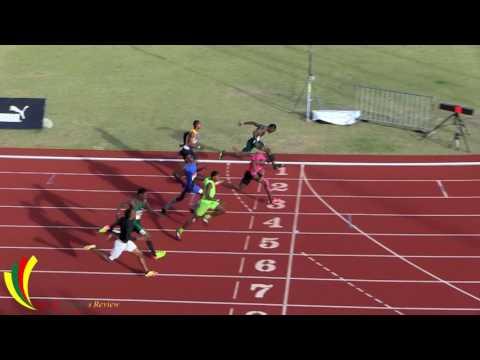 ARIZA Credit Union National Junior Championships 2017 - Boys 100m Dash Under 20