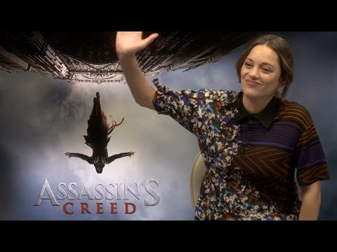 Assassin's Creed - Funny Interview with Michael Fassbender & Marion Cottilard