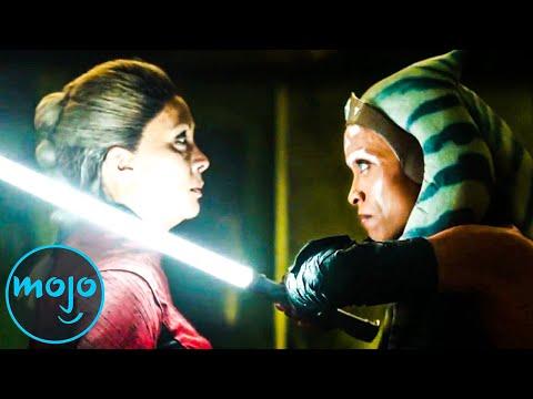 Top 10 Ahsoka Tano Fights