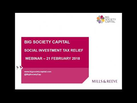 Social Investment Tax Relief: All you need to know on Advanc