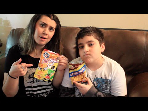 Americans Try Middle Eastern (Jordanian) Snacks