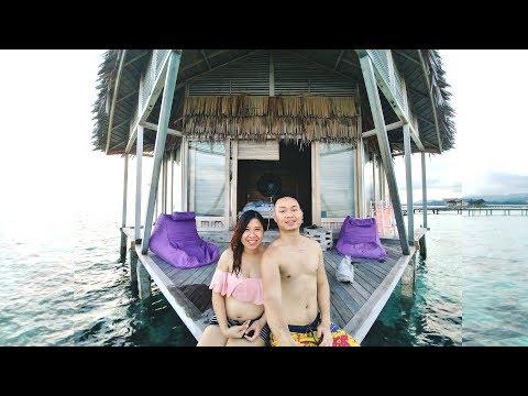 VLOG Day 1 Pulo Cinta Eco Resort (Indonesian Maldives)