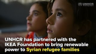 The world first's refugee camp powered by renewable energy