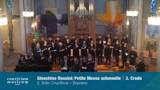 convivium musicum mainz: Rossini - Petite Messe solennelle - 3. Credo (2/2)