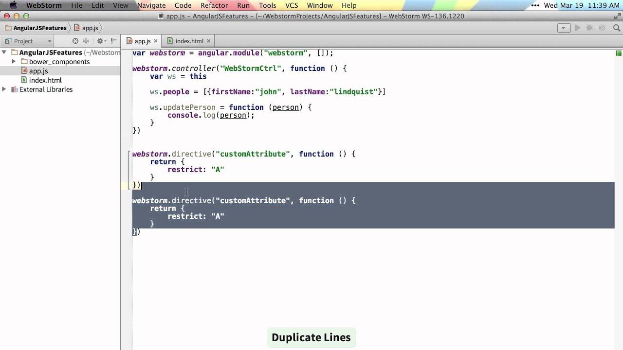 AngularJS Workflow in WebStorm   WebStorm Blog