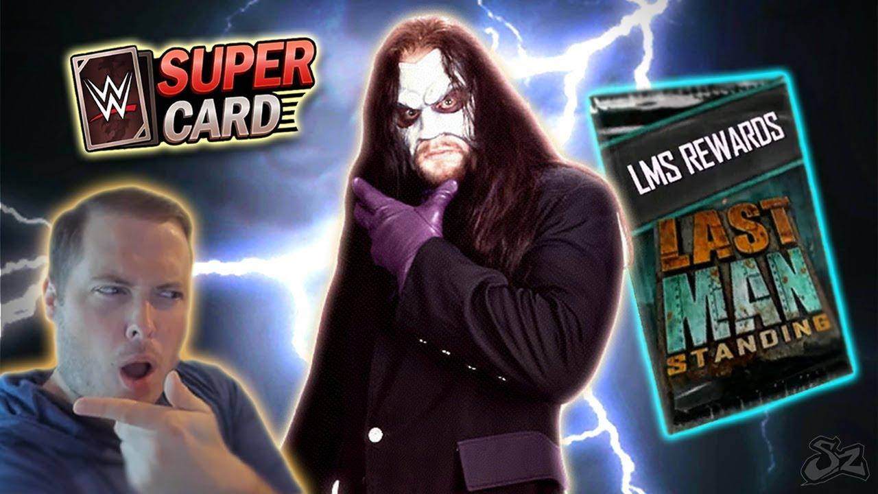 Masked Undertaker?! Last Man Standing Rewards & Portrait Pack! | WWE SuperCard