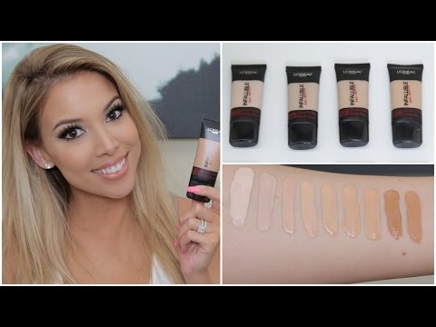L'Oreal Infallible Pro Matte Foundation   Review, Swatches, Tips   Lustrelux