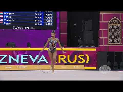 2019 Rhythmic Worlds, Baku (AZE) – Ekaterina SELEZNEVA (RUS), Qualifications Hoop