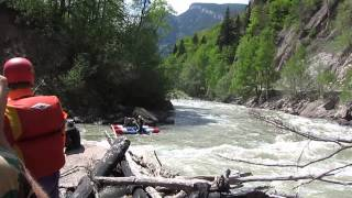 Река Большая Лаба. Порог