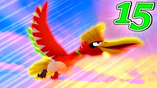 HO-OH AND LUGIA RAGE!? - Minecraft Pixelmon TEAM UP Survival - Episode 15