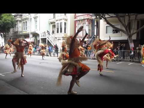San Francisco Carnaval Grand Parade 2015 Rara Tou Limen